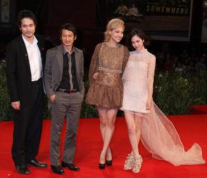 映画『ノルウェイの森』ご一行ヴェネチア映画祭へ