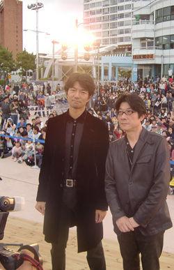 仲村トオルと阪本順治【釜山映画祭】