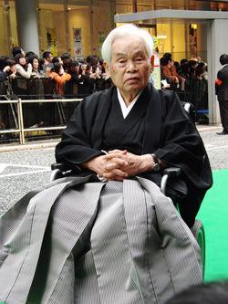 新藤兼人監督【第23回東京国際映画祭】