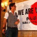ジョニー・デップが日本にエール