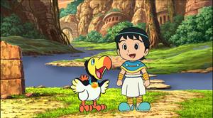 フクラージョとフーク(右)『映画ドラえもん のび太と奇跡の島~アニマルアドベンチャー~』