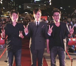 イ・ビョンホン、リュ・スンリョン、チュ・チャンミン監督