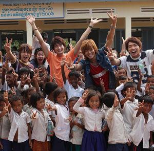 「僕たちは世界を変えることができない。But,We wanna build a school in Cambodia」