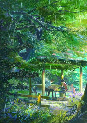 新海誠『言の葉の庭』 新海誠監督の映画『言の葉の庭』は万葉集に着想を得た孤悲(こい)物語 - シ