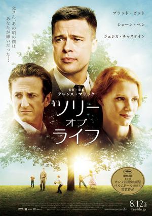 映画『ツリー・オブ・ライフ』日本版ポスター