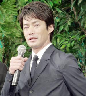 竹野内豊、映画『太平洋の奇跡-フォックスと呼ばれた男-』ジャパンプレミアにて