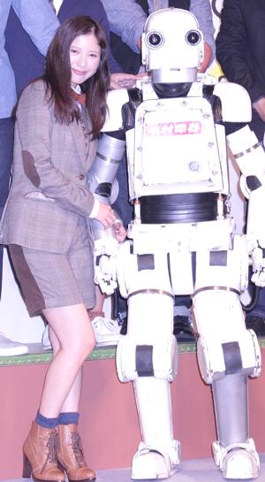 吉高由里子とロボジー