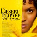 映画『デザートフラワー』日本版ポスター