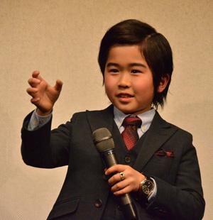 鈴木福デカ長スーツ姿でゆうばり映画祭へ