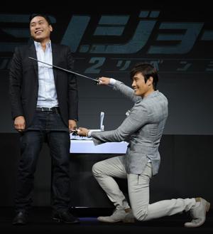 映画『G.I.ジョー バック2リベンジ』来日会見