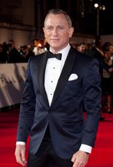 ダニエル・クレイグ映画『007スカイフォール』プレミアにて