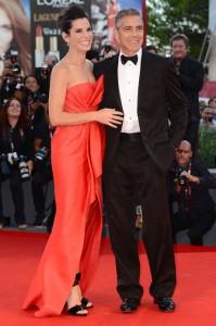 『ゼロ・グラビティ』サンドラ・ブロック&ジョージ・クルーニーin第70回ヴェネツィア国際映画祭
