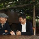 スティーブン・スピルバーグ監督と是枝裕和監督