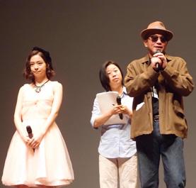 青山真治監督、木下美咲【第18回釜山国際映画祭】