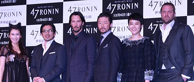 映画『47RONIN』来日会見