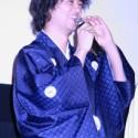 笑顔の斎藤工 『劇場版 仮面ティーチャー』完成披露プレミア上映会