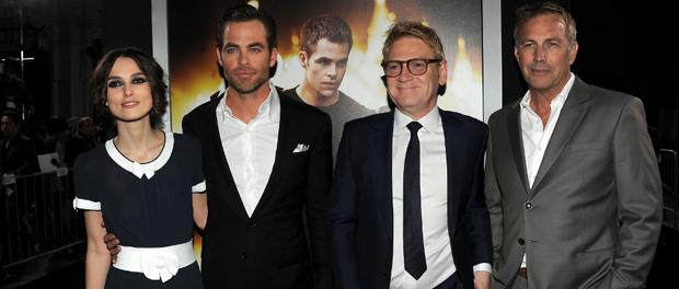 キーラ、クリス、監督、ケヴィン『エージェント:ライアン』