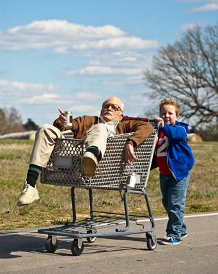 86歳のスケベなじいさんと8歳の孫ビリー