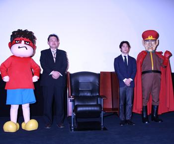 TOHOシネマズ日本橋 記者会見にて