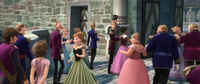 『アナと雪の女王』フリンとラプンツェル