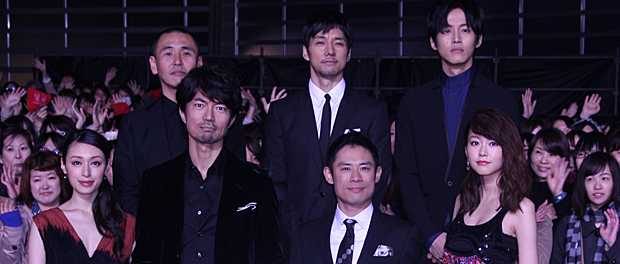 映画『チーム・バチスタFINAL ケルベロスの肖像』完成披露イベント