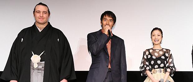 映画『テルマエ・ロマエII』完成披露試写会舞台あいさつ