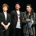 岩田剛典(三代目J Soul Brothers)、深水元基、映画『クローズEXPLODE(エクスプロード)』完成披露試写会