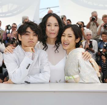 村上虹郎、河瀨直美監督、吉永淳