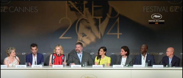 映画『ヒックとドラゴン2』記者会見@カンヌ国際映画祭