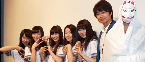 映画『学校の怪談』で北米進出の東京女子流