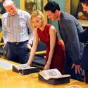 ルーク・エヴァンス×サラ・ガドン大英図書館へ