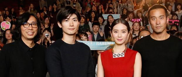 第19回釜山国際映画祭『真夜中の五分前』イベント