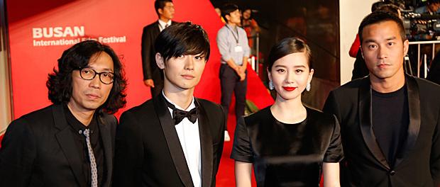 三浦春馬、釜山国際映画祭オープニングに参加!