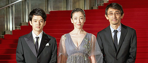 宮沢りえ 優美なドレスで映画祭開幕式へ