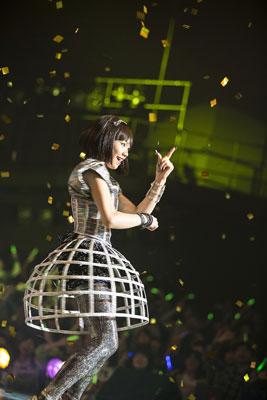 トップアイドル宇田川咲(二階堂ふみ)のライブ
