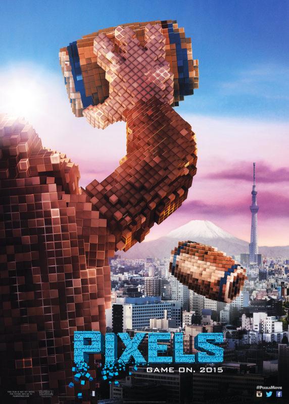映画『ピクセル』ドンキーコング、日本征服!