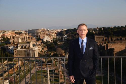映画『007 スペクター』ダニエル・クレイグ
