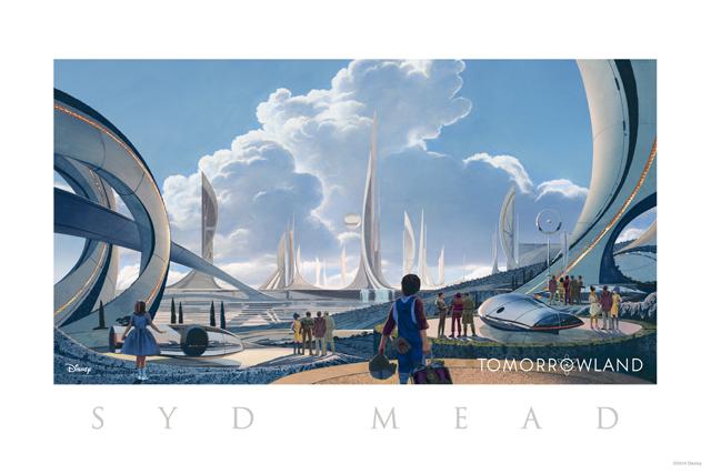 シド・ミードによる映画『トゥモローランド』コンセプトアート