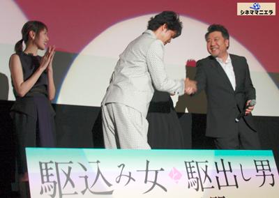 戸田恵梨香と大泉洋と原田監督
