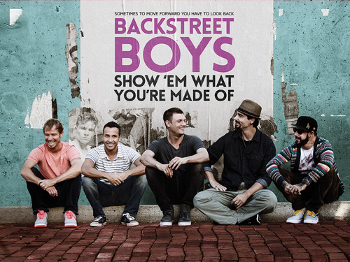 映画『BACKSTREET BOYS:SHOW'EM WHAT YOU'RE MADE OF』