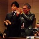 さだまさしの歌唱を客席で聴いた大沢たかおと三池監督