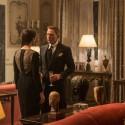 モニカ・ベルッチとダニエル・クレイグ、映画『007 スペクター』場面写真