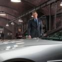ダニエル・クレイグとボンドカー、映画『007 スペクター』場面写真