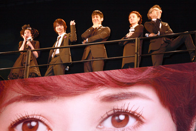『脳内ポイズンベリー』脳内メンバー(左から)桜田ひより、神木隆之介、西島秀俊、吉田羊、浅野和之
