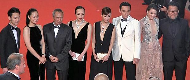 映画『黒衣の刺客』カンヌ国際映画祭レッドカーペット