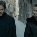 映画『天使が消えた街』のダニエル・ブリュールとケイト・ベッキンセイル
