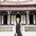 天海祐希、台北孔子廟にて