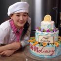 綾瀬はるかの手作りケーキが完成!