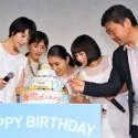 6月生まれの是枝裕和監督(6月6日)と妹たち―長澤まさみ(6月3日)、夏帆(6月30日)、広瀬すず(6月19日)