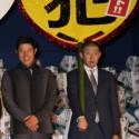 鈴木亮平、荒川良々、映画『予告犯』初日舞台あいさつにて